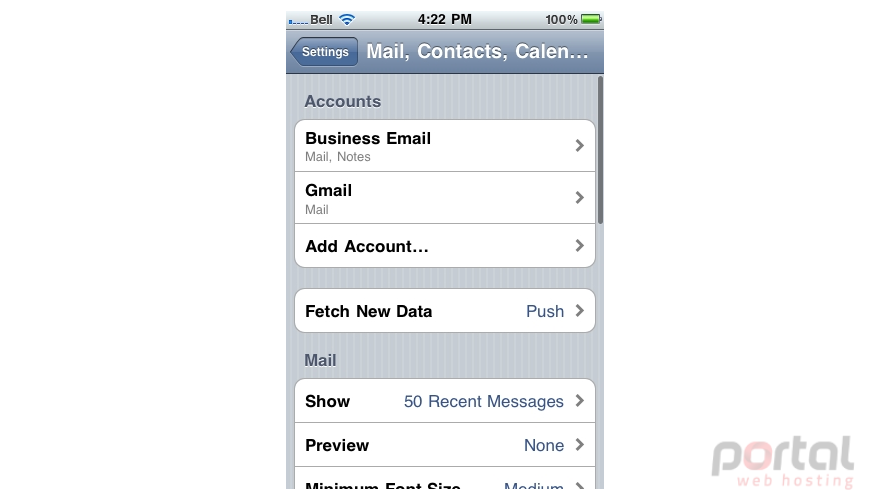 how to permanently delete emails from iphone